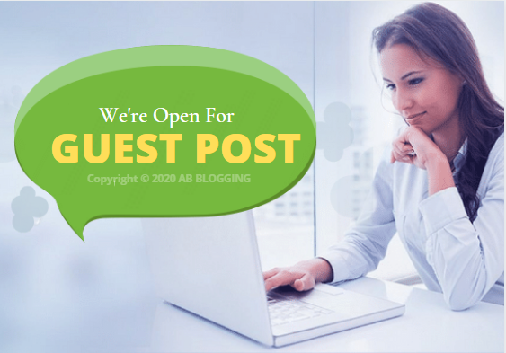 open for guest posting